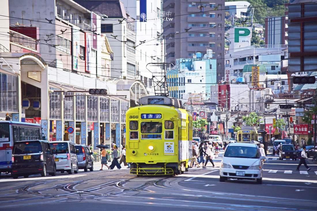 長崎景點,長崎,自由行,長崎交通,住宿,路面電車,九州,景點