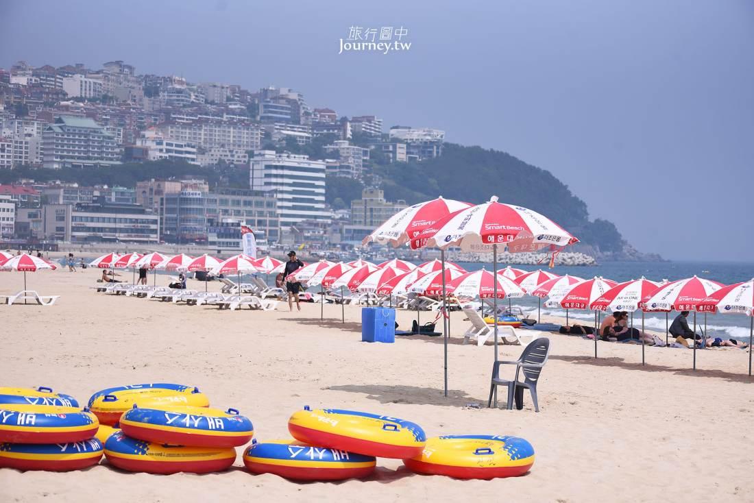 韓國,釜山,海雲台海水浴場,海雲台,陽光,沙灘,釜山景點,釜山自由行