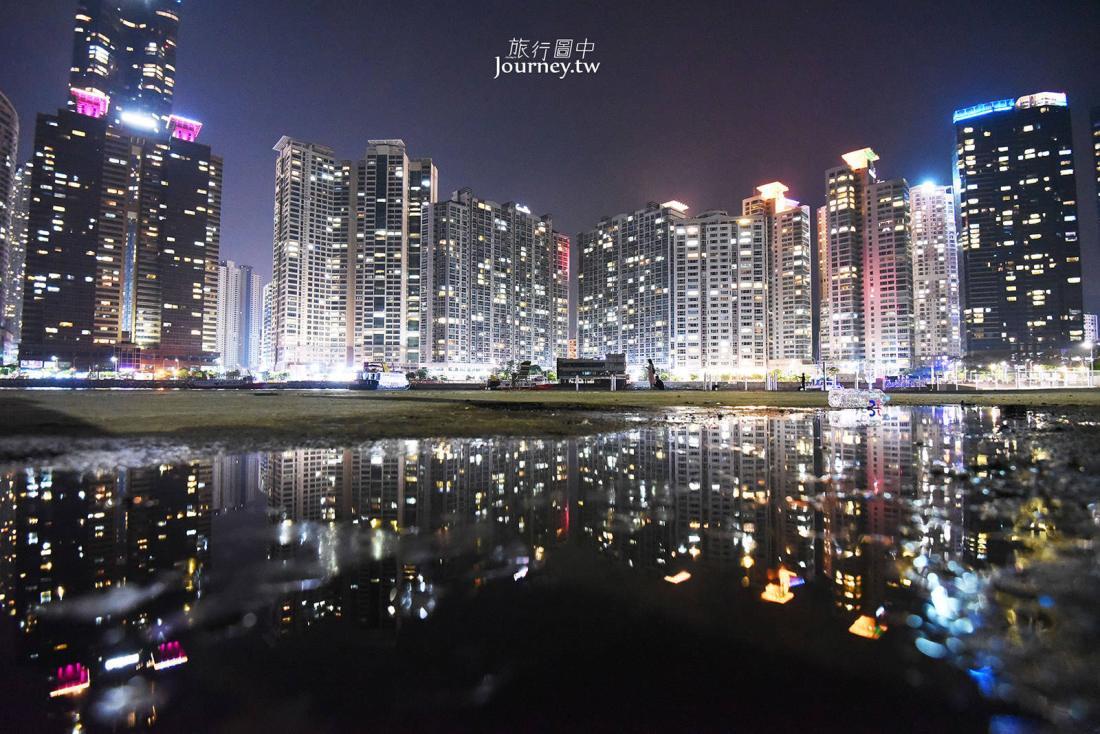 韓國,釜山,釜山景點,釜山夜景,海雲台