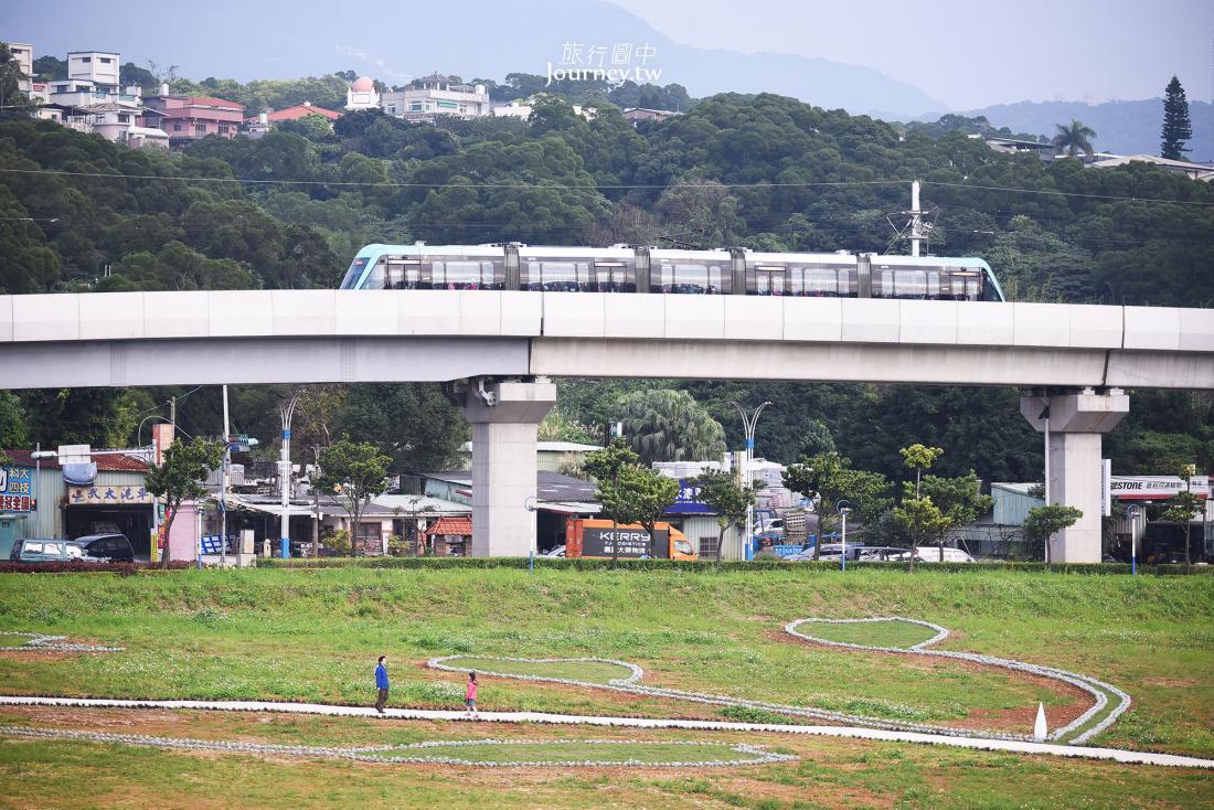 淡海輕軌,Danhai LRT,行武者號,淡海新市鎮,景點,搭乘方式,車廂介紹