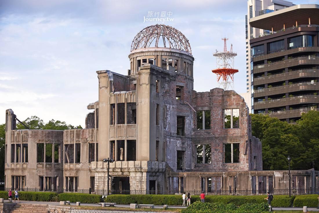 廣島,原子彈爆炸圓頂屋,廣島和平紀念公園,廣島景點