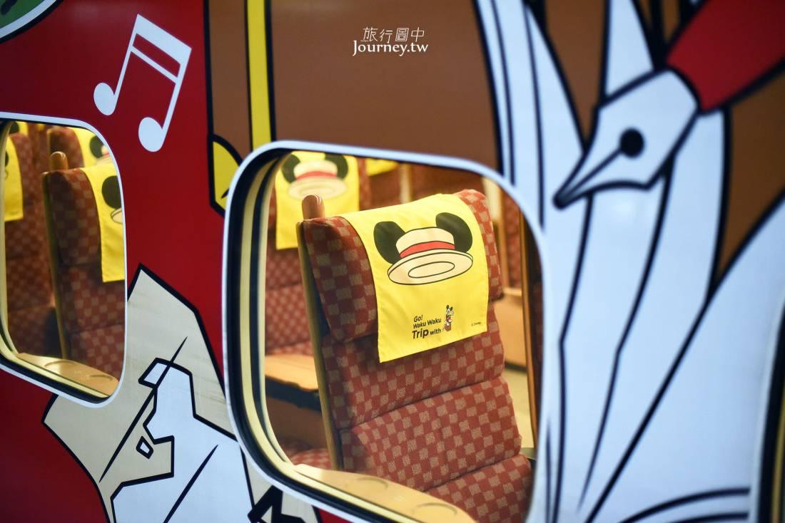 九州新幹線,米奇新幹線,米奇,micky,Go!Waku Waku Trip with MICKEY,時刻表,車廂,搭乘說明,劃位