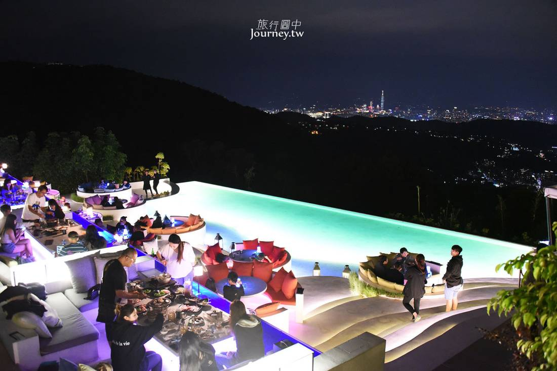 台北,士林,The Top,屋頂上,景觀餐廳,台北夜景