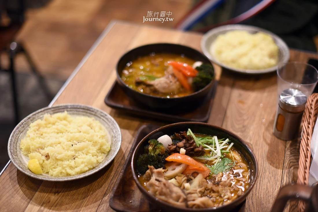 北海道,札幌美食,GARAKU Soup Curry,湯咖哩