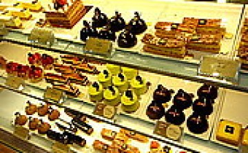 [cafe。下午茶] ♥♥ agnes.b Agnès b. CAFÉ L.P.G. Taiwan 蛋糕 巧克力 優格冰 都好吃// N訪 ♥ JoyceWu。食記