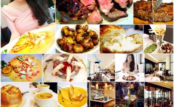 [牛排館] 新開幕 ♥ Morton's The Steakhouse - Taipei 台北莫爾頓牛排館 ♥ 101景觀餐廳 浪漫高樓夜景 節日慶祝 跨年煙火 台北夜景 (微風信義45樓/捷運市政府站) ♥ JoyceWu。食記
