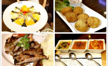 [泰式] BangkokJam 泰過熱時尚泰式料理 三色咖哩 泰式生蝦 焦糖香蕉佐冰淇淋 景觀餐廳 (信義店/ATT4FUN) 二訪 ♥ JoyceWu。食記