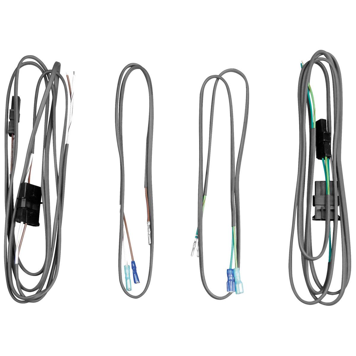 J Amp M Saddlebag Lid Or Rear Pod Speaker Wiring Harness Kit