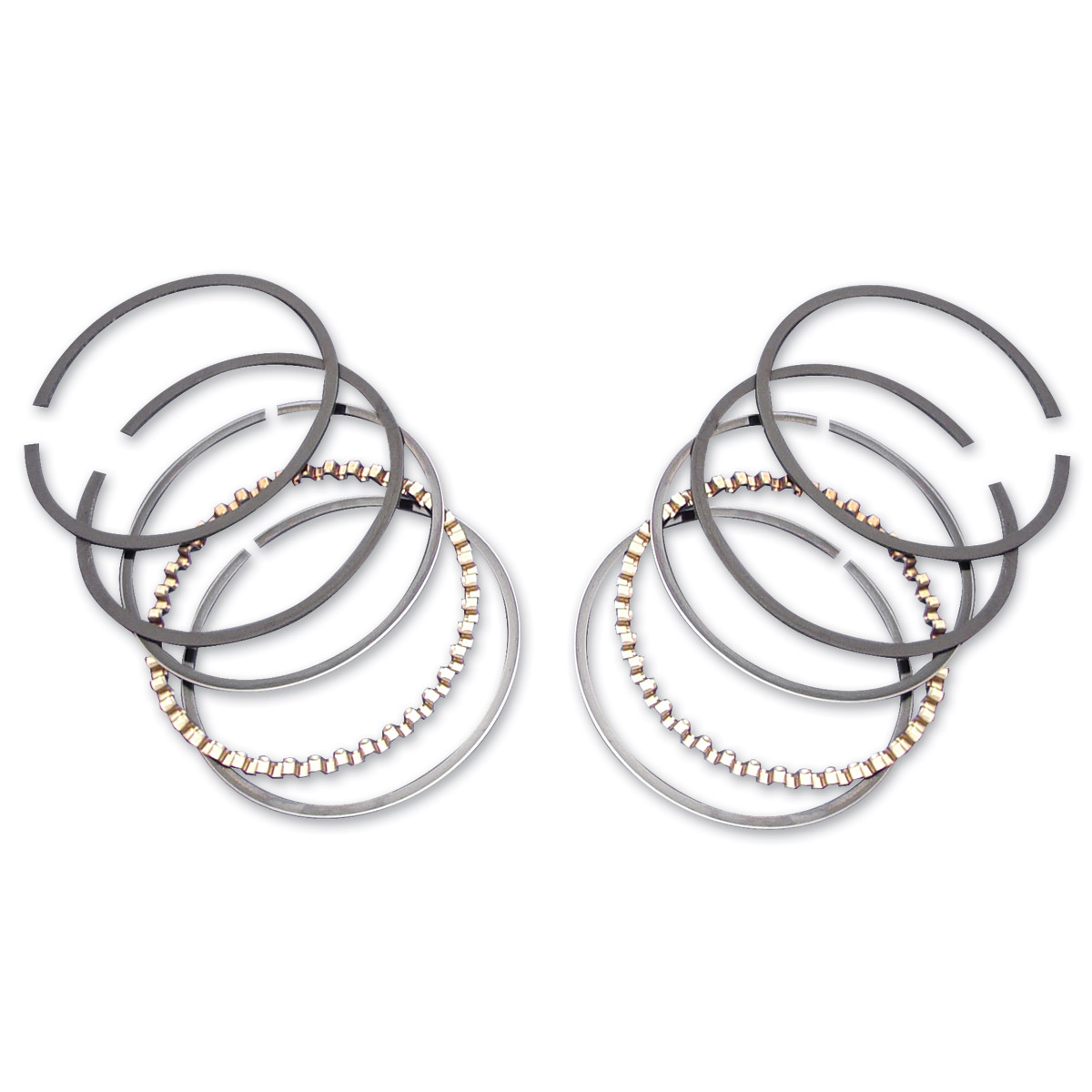 V Twin Manufacturing 74 Ring Set