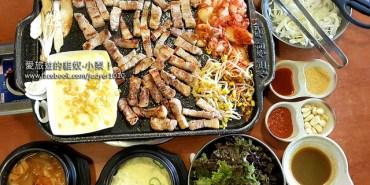 【韓國美食】古代肉烤肉고대고기집\安岩站,玉米起司五花肉,吃烤肉沾起司才過癮,起司控千萬別錯過!(另有商業午餐,一個人也能吃哦!)