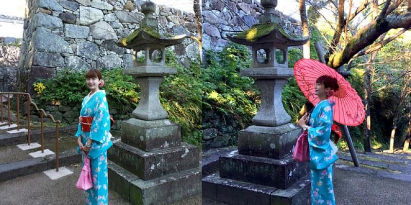 【日本長崎】賞櫻聖地:大村公園\梅之枝莊,我的和服初體驗!(只需3~5分鐘就可以輕鬆著裝完成^^)