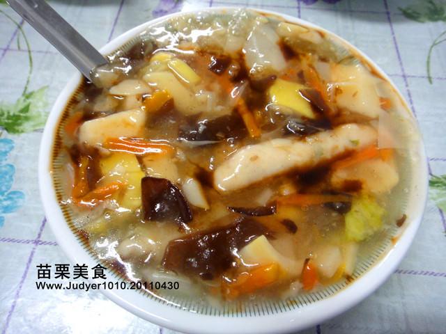 【苗栗美食】:湯家大肉圓+臭豆腐~賞完油桐花之後必吃!