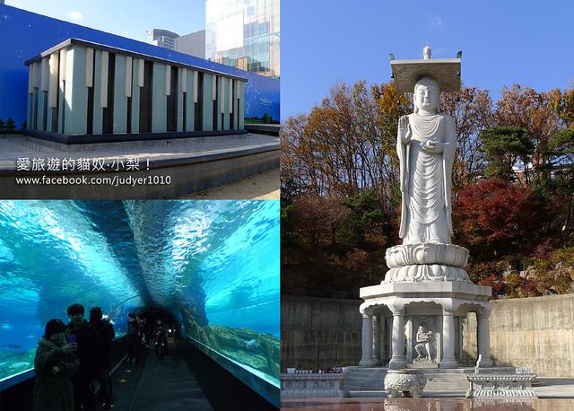 【韓劇景點】:三成站\《聽見你的聲音》:COEX水族館、《信義》:奉恩寺、《49天》《愛情雨》:鋼琴噴水池,劇迷們不要錯過哦~