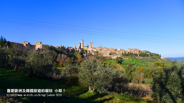 【義大利】:12/9Day2(下):聖吉米那諾→比薩