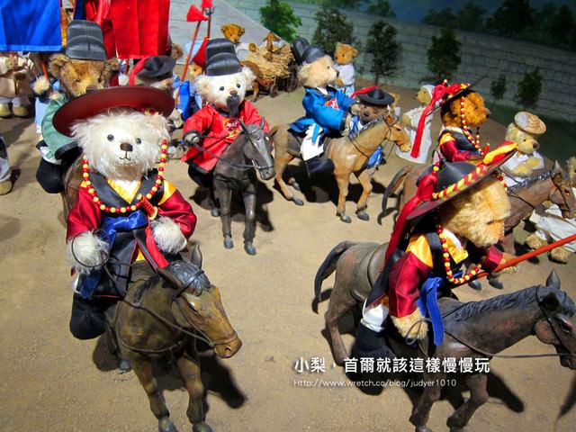 【韓國旅遊】:超Q泰迪熊博物館~令大人小孩都瘋狂!