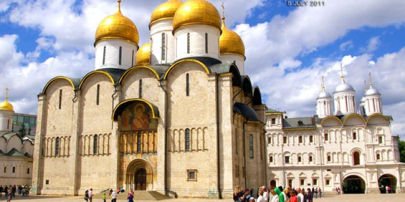 【俄羅斯旅遊】:Day6(下):參觀克里姆林宮-(搭乘國內班機)-聖彼得堡~