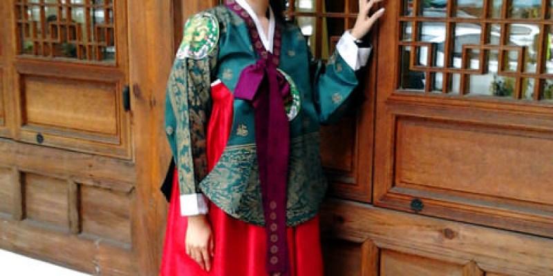 【韓國旅遊】:仁寺洞‧超美豪華版韓服體驗!請勿錯過哦~