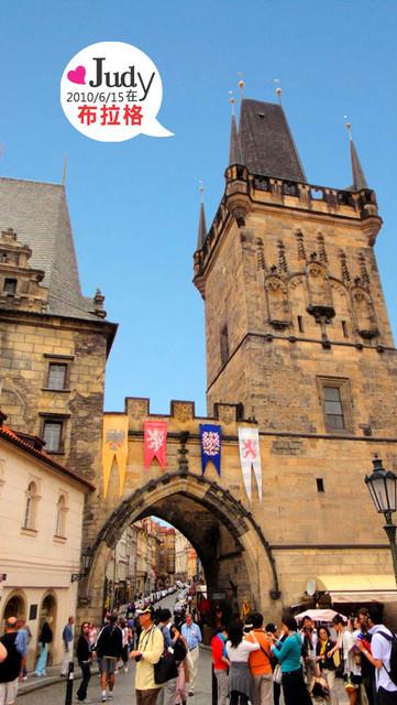 ❤奧捷之旅Day6(中):布拉格Praha:查理橋