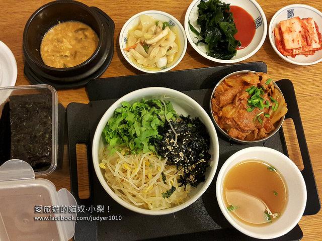 【韓國必吃】南山湯鍋남산찌개\合井站,是一個人就能大口享用的韓國家常美食小館哦!