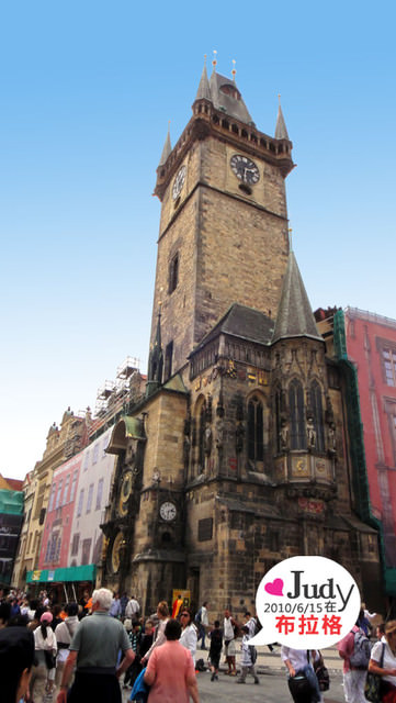 ❤奧捷之旅Day6(下):布拉格Praha:天文鐘+猶太區+波丹尼+查理橋夜景