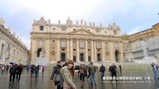 【義大利】:12/15Day8(上):羅馬(梵諦岡、聖彼得大教堂、超讚米其林餐廳)