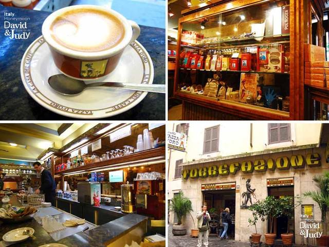 【義大利必買必吃(五)】萬神殿旁邊的美味‧金杯咖啡(各種包裝)~