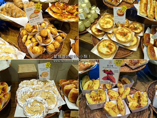 【釜山美食】海雲台\옵스OPS麵包店!釜山超人氣麵包店!