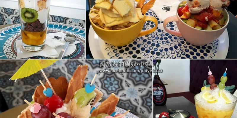 【韓國美食】弘大合井站\她的咖啡杯그녀의 커피잔,這家的冰品超可愛,彷彿會說話呢!