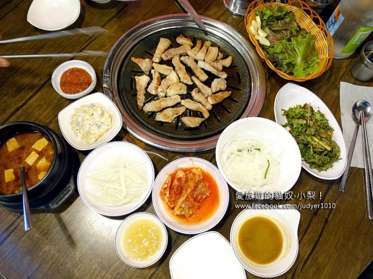 【韓國必吃】弘大\胖胖豬烤肉통통돼지뽈살, 美味烤肉店再一家!