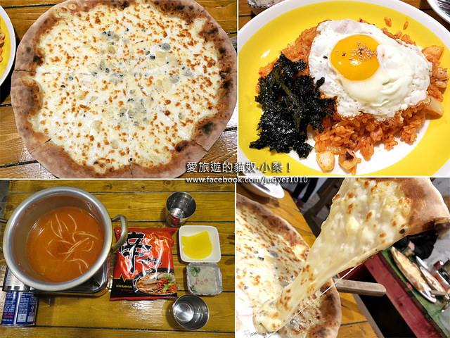 【韓國必吃美食】惠化石頭大叔혜화돌쇠아저씨,令人驚豔的起司蜜糖披薩,好吃到爆炸!