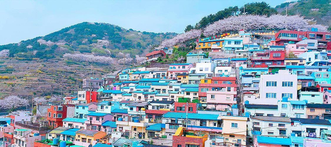 釜山甘川洞文化村