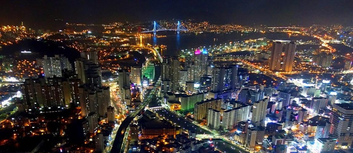 釜山BIFC夜景
