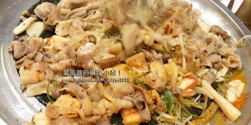 【釜山必吃美食】西面站\德曼泡菜炒五花肉,好好吃啊!