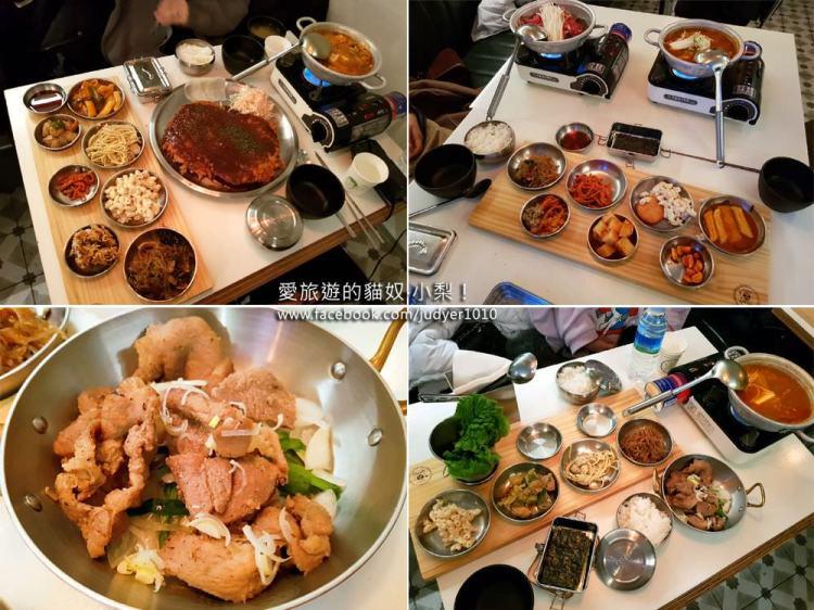 【弘大美食推薦】合井\金德厚的司機食堂,韓國美食小館,便宜又好吃!(已改成烤肉)