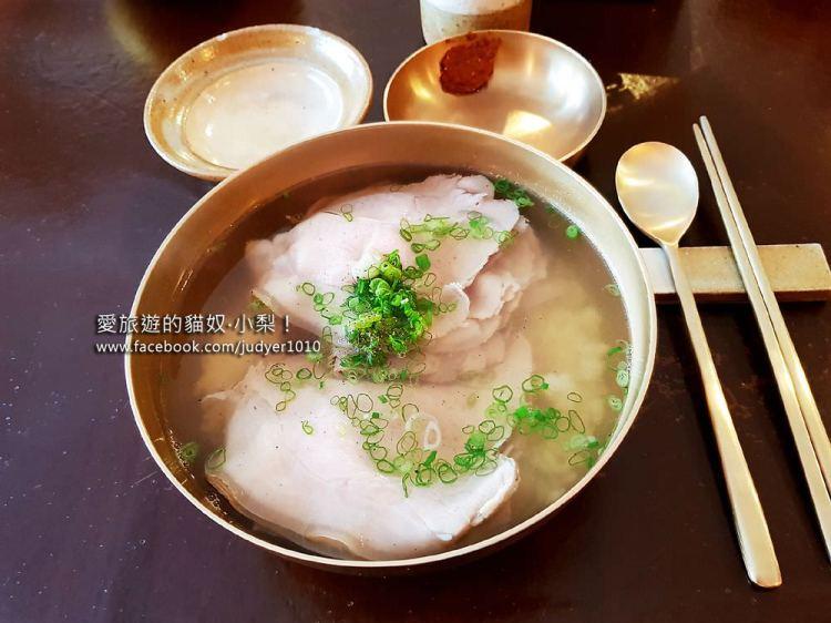 【弘大必吃美食】合井站\屋同食(豬肉湯飯),2019首爾米其林指南推薦餐廳!