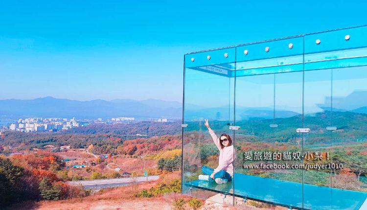 春川九峰山咖啡街\A TWOSOME PLACE空中觀景台,EXO世勳和燦烈IG打卡處!