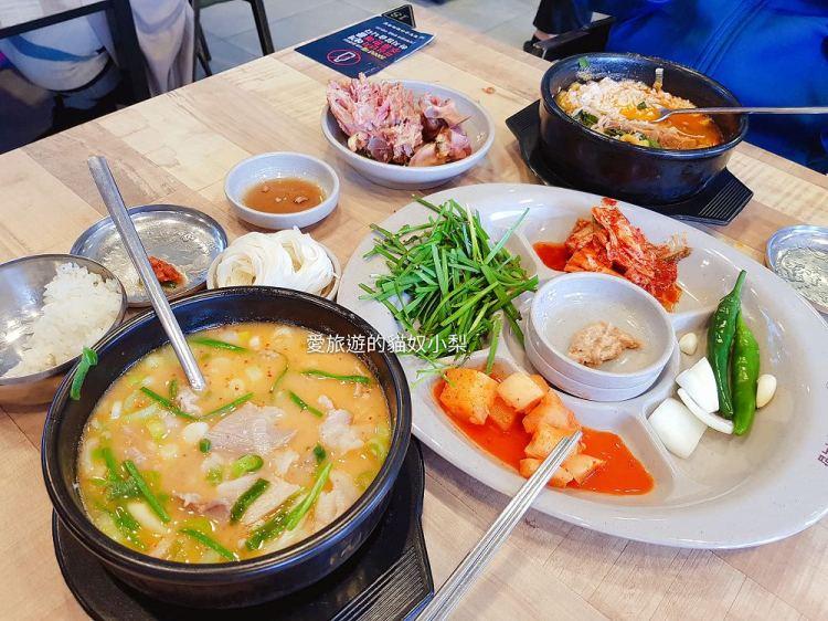 【釜山必吃美食】海雲台\密陽血腸豬肉湯飯밀양순대돼지국밥(24小時營業),這家也好好吃啊!