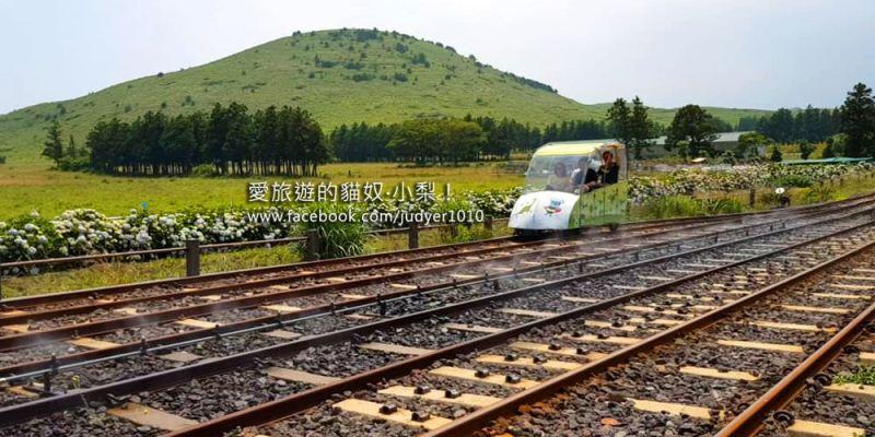 【濟州島】龍臥(目)岳鐵道自行車Jeju Rail Bike,大家一起去體驗最舒服的運動~