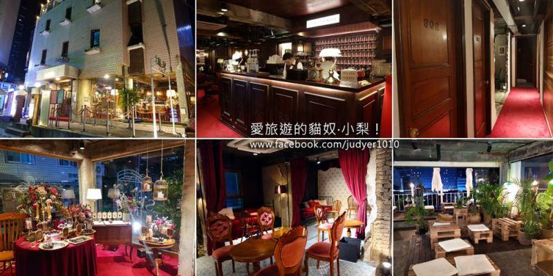 益善洞咖啡廳\HOTEL SEINE CAFE,韓劇《德魯納酒店》中的場景之一~