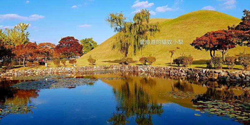 慶州賞楓\大陵苑,有著新羅王、王妃及貴族的古墓群~