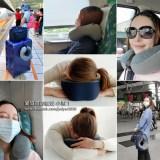 旅行枕推薦\Muti多用途竹炭記憶頸枕、午休枕,讓你搭車、旅遊或在辦公室都好睡!