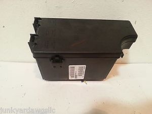 2011 2012 CHRYSLER 200 BCM FUSE RELAY BOX BLOCK PANEL USED