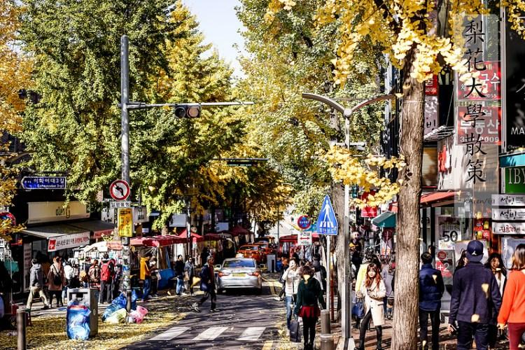 [Seoul。遊] 梨花大學散策