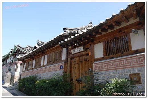 [Seoul] 北村八景之令人著迷的韓屋