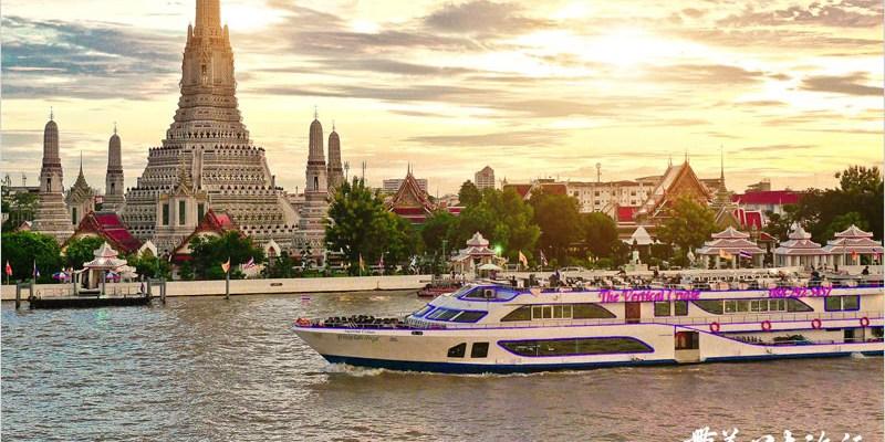 泰國曼谷自由行   The Deck Restaurant 拍攝鄭王廟最佳景觀餐廳,餐點份量多、不貴、不錯吃。