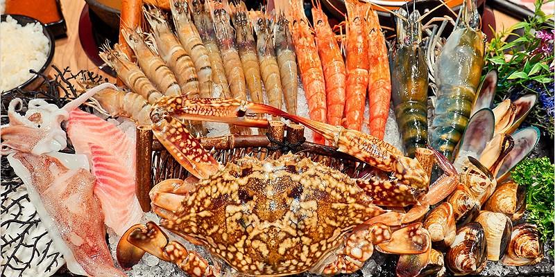 屏東火鍋店 | 燒瓶子。大肆の鍋(屏東環球店)-雙人巨蟹鍋豐盛食材、大肆嗑肉、飽口超滿足,CP值要爆表啦!
