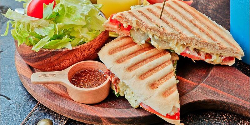 台中西區早午餐 | 午街貳拾 Cafe Bistro-精誠商圈豐盛好吃早午餐店。2樓還有單車商店可以逛。