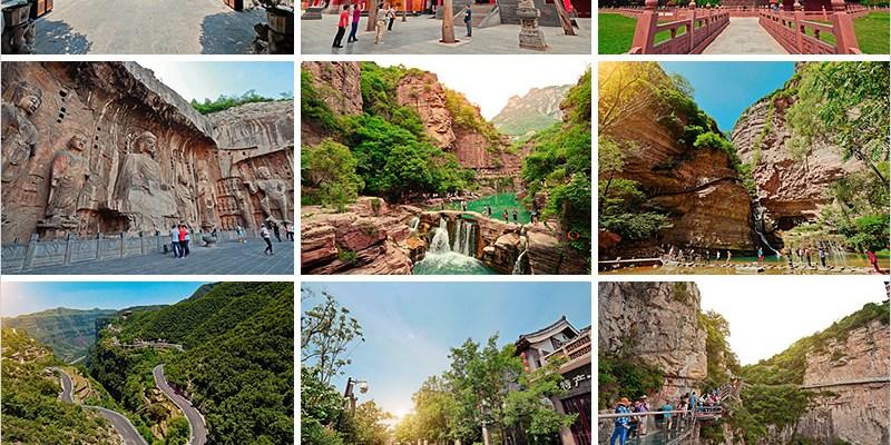 大陸河南旅遊   少林寺、龍門石窟、太行大峽谷、雲臺山、包公祠六日重點行程這麼玩就對啦!