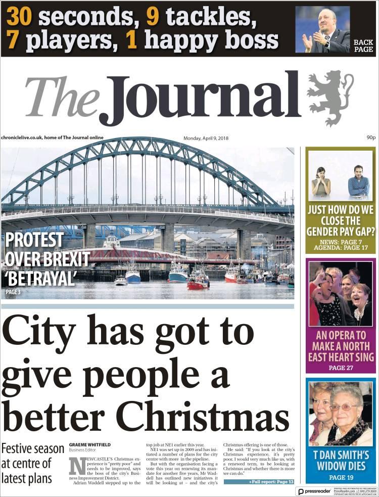 Portada de The Journal (United Kingdom)
