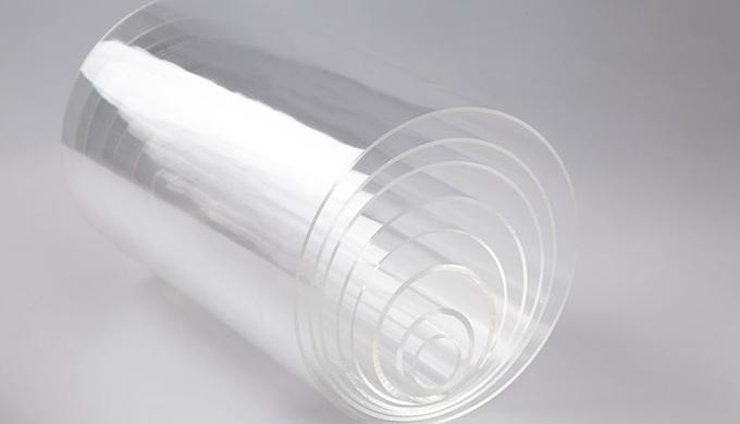 tube polycarbonate extrude par